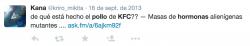 Tweet KFC